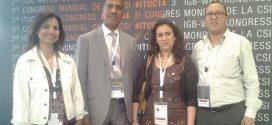 وفد الاتحاد المغربي للشغل المشارك في المؤتمر الثالث للاتحاد الدولي للنقابات يواصل سلسلة لقاءاته  بالوفود النقابية المشاركة بمؤتمر CSI ببرلين