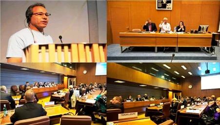 """مشاركة فاعلة للاتحاد المغربي للشغل وتوصيات هامة في  """"المنتدى العالمي للحوار حول علاقات العمل بقطاع الاتصالات ومراكز النداء"""" المنعقد بمقر منظمة العمل الدولية بجنيف"""