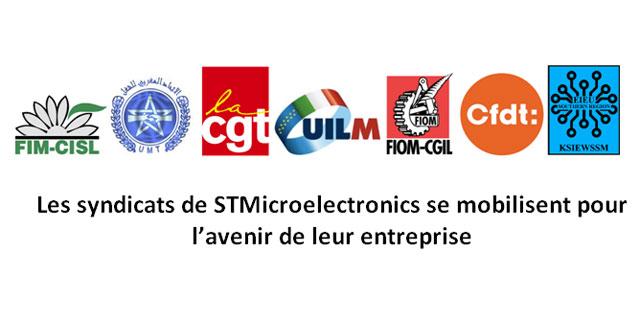 Les syndicats de STMicroelectronics se mobilisent pour l'avenir de leur entreprise