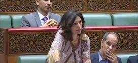 مداخلة الأخت أمال العمري خلال الجلسة التشريعية لتفسير التصويت حول مشروع قانون33.17