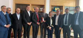 زيارة الوفد البرلماني الاسترالي للاتحاد المغربي للشغل