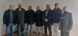 بلاغ إخباري بخصوص اجتماع مع المندوب الإقليمي للصحة بالفقيه بن صالح
