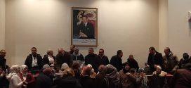 التحاق جماعي للعشرات من نساء ورج     لقاء تواصلي حاشد وناجح للجامعة الوطنية للصحة (إ م ش) بخريبكة     والتحاق جماعي للعشرات من نساء ورجال الصحة بصفوف الاتحاد المغربي للشغل