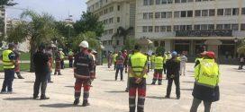 """المكتب النقابي لعمال ومستخدمي شركة : وقفة احتجاجية""""أمانور"""""""
